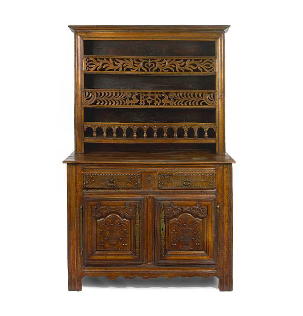 18th century louis xv fruitwood vaisselier the world of. Black Bedroom Furniture Sets. Home Design Ideas