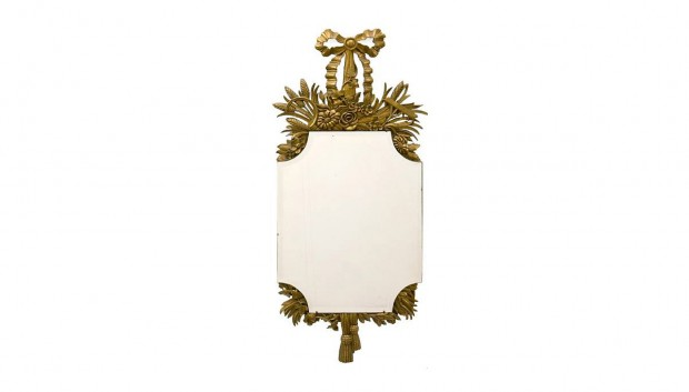 Continental-Neoclassical-style-carved-giltwood-mirror-2