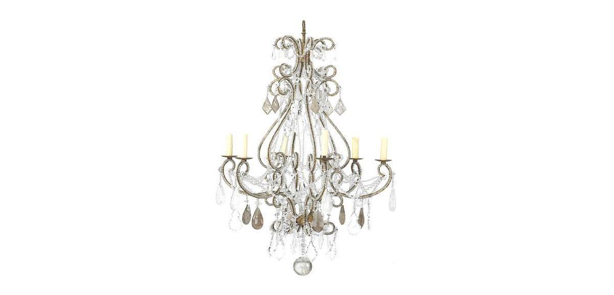 neoclassical lighting. Beautiful Lighting Italian Neoclassical Style Glass Rock Crystal And Gilt Iron 8 Light  Chandelier With Lighting O