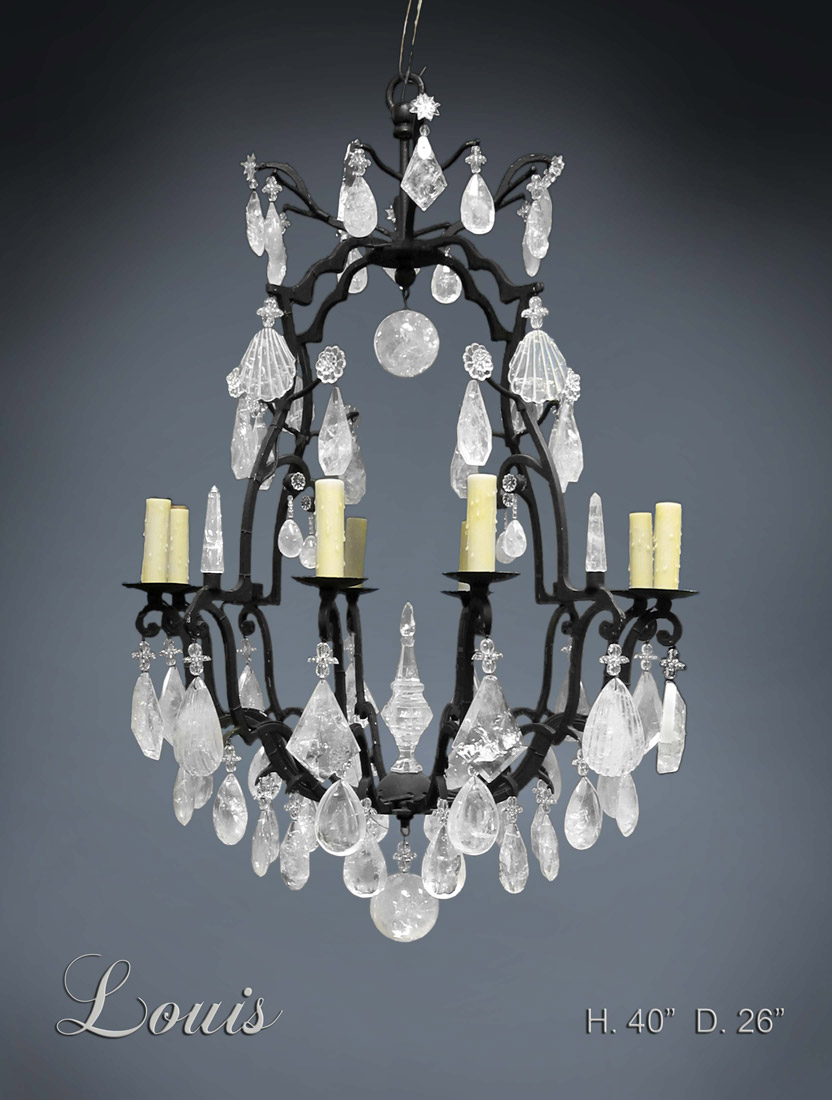 Rock Crystal Chandeliers