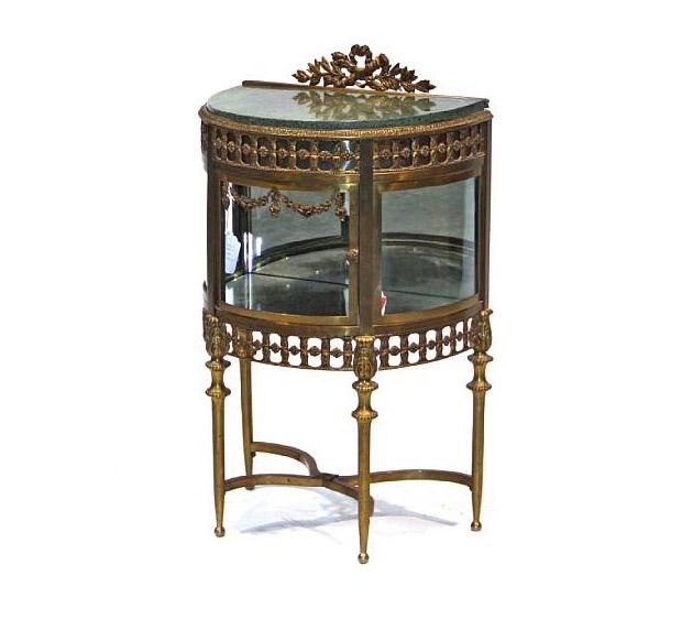 Louis-XVI-style-gilt-metal-mounted-demi-lune-vitrine-cabinet-1