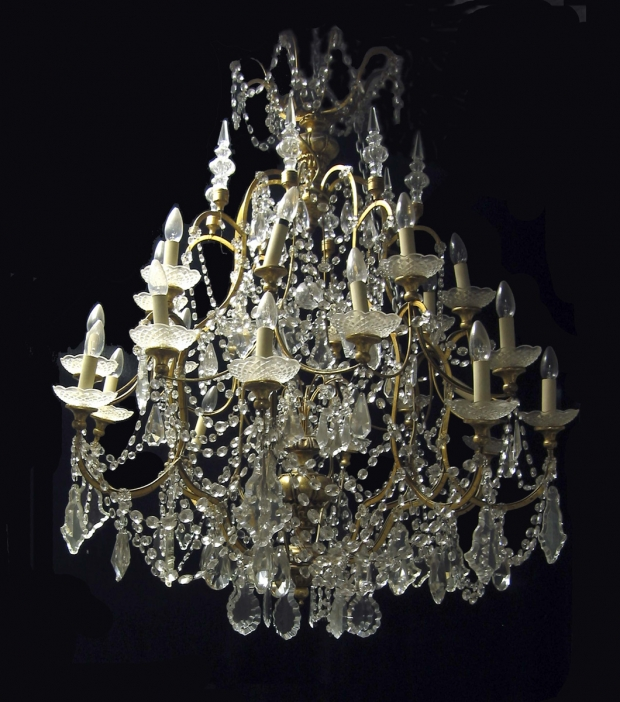 Venetian rock crystal chandelier the world of design venetian rock crystal chandelier aloadofball Images