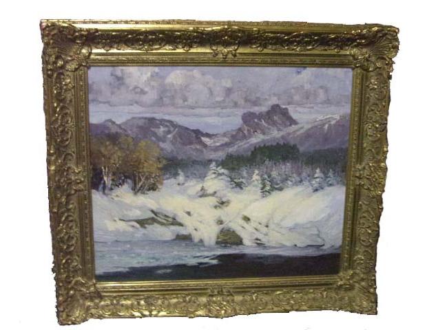 Ed Lammert 1920 Painting
