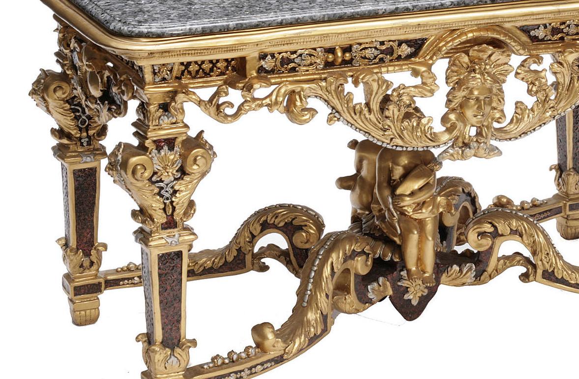 ... Marble Center Table. Régence ...
