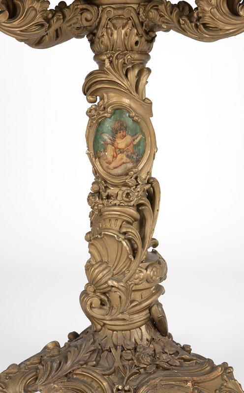 19c Italian Baroque-style painted  jardiniere (2)