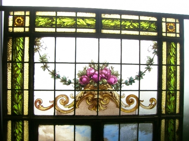Leaded Glass Panel C (2)