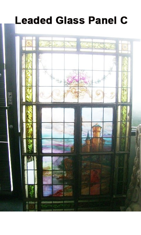 Leaded Glass Panel C