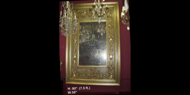 p-air-of-exceptional-and-monumental-italian-versallies-style-neo-classical-parcial-gilt-and-green-decorated-mirrors