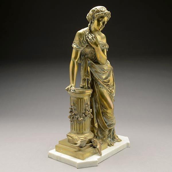 French Gilt Bronze Figure of Venus1