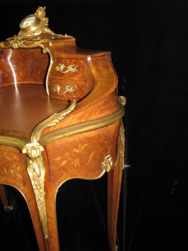Extrodinary Zwiener ormollu mounted ladys Secretary signed (6)